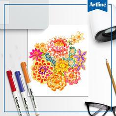 Regala flores que duren para siempre, especialmente si son dibujadas con alguno de nuestros productos.