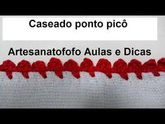 ★ MATERIAL UTILIZADO NESTE VÍDEO: ★ Agulha de crochê 1,75 mm linha Anne cor 3528 vermelho forte Crochet Bowl, Manta Crochet, Wraps, Kids Rugs, Embroidery, Blog, 81, Cristina, Boarders