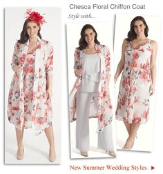 1999b6068be3 Summer Wedding Outfits Mother of the Bride or Groom Dress Suits 2019