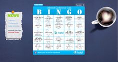 https://babl.biz/bingo/  Make your conference calls more entertaining, and share the scores with your friends!