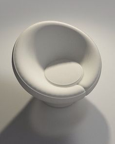 Mushroom Chair 1960 designed by Pierre Paulin, french-designer My Furniture, Furniture Design, Mushroom Chair, Pierre Paulin, Multipurpose Furniture, Id Design, Take A Seat, Mid Century Modern Design, Modern Chairs