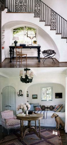 once.daily.chic: Reese Witherspoons House {via Elle Decor}: Interior Design, Reese Witherspoon, Ree Witherspoon House, Robert Pattinson, Elle Decor, Cozy Homes, Interiors Design, Witherspoon Vacations, Pattinson Vacations