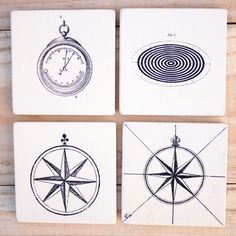 DIY Dollar Store Coasters How to Transfer Images