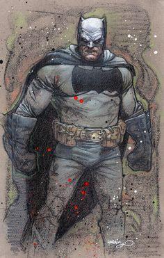 The Dark Knight by Tony Harris