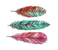 Feathers tumblr overlay