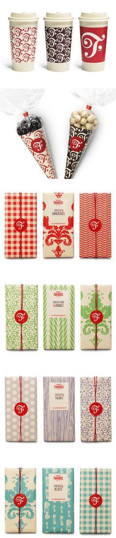 Chocolats Favoris packaging