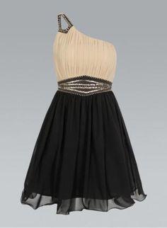 One Shoulder Dress with Embellished Waist & Shoulder,  Dress, one shoulder dress  embellished dress, Chic