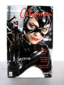 Michelle Pfeiffer as CATWOMAN, Batman Returns RARE Vinyl Model Kit!  Here Kitty Kitty. . . .