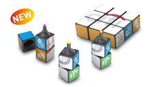 Rubik's promo magnetic highlighter