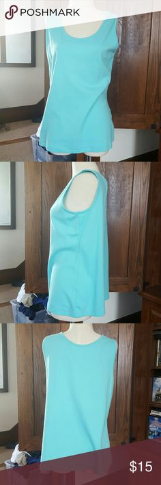 Sky blue tank top Sky blue Tank top Size large Great condition Worn once Lands end Lands' End Tops Tank Tops