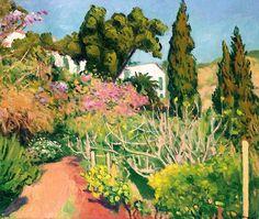 """bofransson: """" La maison dans les arbres, Algiers 1944 Albert Marquet """""""