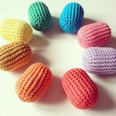 Tuto-Mini Maracas au crochet