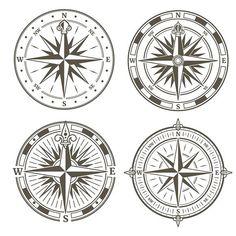 Идеи Under Wear underwear elastic band Vintage Compass Tattoo, Compass Logo, Compass Tattoo Design, Geometric Compass, Nautical Compass, Nautical Signs, Compass Drawing, Saved Tattoo, Rose Clipart
