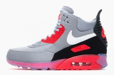 "the best attitude 37ab7 b2e9d Nike Air Max 90 Sneakerboot Ice ""Infrared"" Runs Nike, Nike Running, Running"
