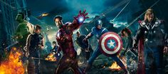 The Avengers [Hi-Res Textless Banner] by PhetVanBurton.deviantart.com on @deviantART