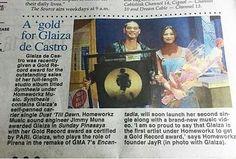"""regram @gdc_images #Repost @homeworkzmusic : """"A Gold For Glaiza De Castro"""". #PhilippineStar #OriginalMusicOnly #SynthesisAlbum"""