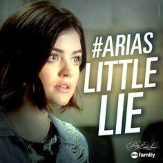 Arias Little lie Pretty Little Liars