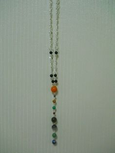 Solar System necklace by MorganaNoelani on Etsy
