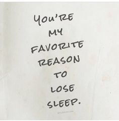 I Swear Can Never Sleep You Re The Reason Why Find