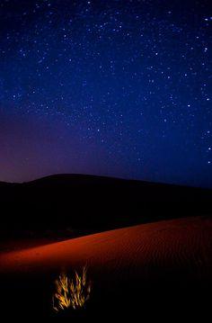 Starlight at  Sahara, Morocco