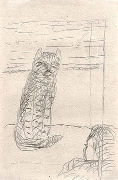 Pierre Bonnard (1867-1947, French) | THE GREAT CAT