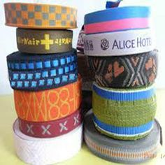 Personalized Jacquard Ribbon By: Ribbon Art www.ribbonart.co.in