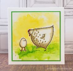 Easy Easter Cards; using Stampin' Up! 'Hey, Chick' stamp set