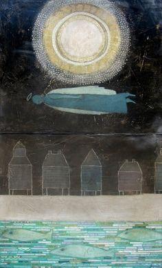 Midnight Swim  ~  Leslie Barron