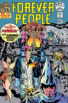 Forever People (1971-1972)  #Forever People #Jack Kirby