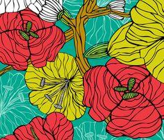 marisa fabric by valentinaharper on Spoonflower - custom fabric