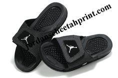 fd997c17682d Cheap Air Jordans 13 Massage Slippers Black Buy Jordans