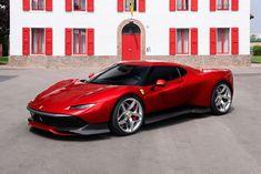 Ferrari SP38 Luxury Sports Cars, New Sports Cars, Exotic Sports Cars, Exotic Cars, Sport Cars, Sport Bikes, Maserati, Bugatti, New Ferrari
