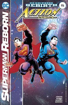 RESEÑA DE ACTION COMICS #976 (SUPERMAN REBORN PARTE 4 DE 4) ~ SUPERMANJAVIOLIVARES: NOTICIAS SUPERMAN, MAN OF STEEL, BATMAN V SUPERMAN: DAWN OF JUSTICE