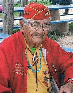 Navajo Code Talker Willard Varnell Oliver