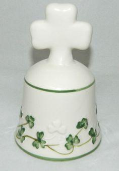 Watervale Bell Irish Shamrock Decorative Parian China Dinner Table 7340 | eBay