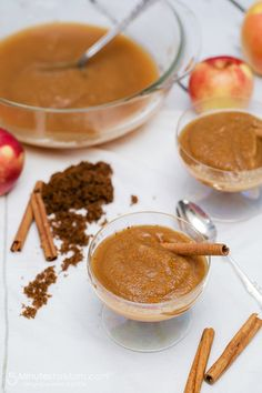 Homemade Brown Sugar and Cinnamon Applesauce -   This recipe is so delicious and so quick to make, you will want to whip up a batch every week. Thanks to Kenwood for sponsoring this post.