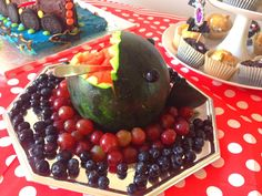 Requin pastèque - Shark watermelon - anniversaire pirate - pirate birthday