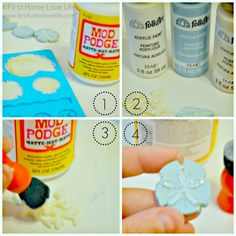 Seaside Inspired Drink Tags Using Mod Melts - First Home Love Life