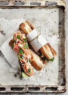 Gorgeous sandwiches. Food styling Sanna Kekäläinen, photo Reetta Pasanen.