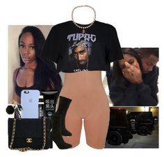 """"""""""" by jemilaa ❤ liked on Polyvore featuring Apple, Bare Escentuals, Chanel, Boohoo and Jacobies"""