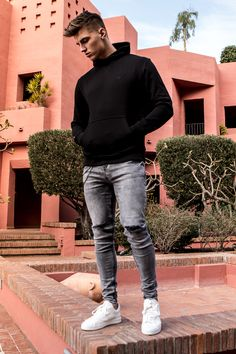 Cool Outfits For Men, Stylish Mens Outfits, Casual Outfits, Men Casual, Casual Winter, Casual Summer, Casual Shoes, Casual Suit, Casual Blazer