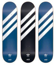"""Cliché x adidas Skateboarding – Lucas Puig """"3 Stripe"""" Skate Decks"""
