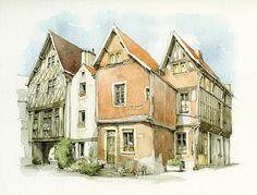 Noyers-sur-Serein, Yonne, France | Flickr - Photo Sharing!