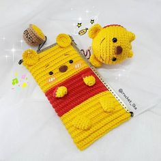 pooh&pooh ... #pooh #doll#handmade#crochet#crocheting#crocheteveryday #amigurumi#purse