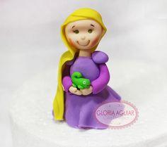 Modelagem Açúcar Rapunzel Enrolados by Gloria Aguiar Cake Designer, via Flickr