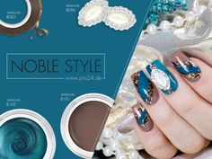#noble   #pinstripes   #nails   #nailart   #overlay   Gedeckte Farbtöne in Kombination mit effektvoller Nailart lässt ein nobles Gesamtbild entstehen. Gefällt Euch dieses Design? Dann könnt Ihr Euch hier die Video-Anleitung ansehen: http://www.prettynailshop24.de/shop/nailart-noble-style-video_858.html?utm_source=pinterest&utm_medium=referrer&utm_campaign=pi_NA_Noble_Style0416