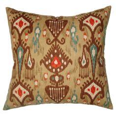 Large Ikat Pattern Down Pillow hippy boho chic #huntersalley