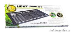 SunBlaster 17 Watt Propagation Heat Sheet