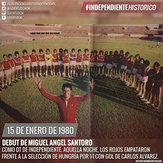Miguel Angel Santoro. Su debut como DT en 1980