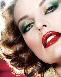 Dramatic Makeup Inspiration. I love Mila Jovovich! She is so gorge!! <3